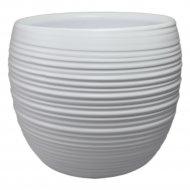 Горшок керамический 17x4,5 см.