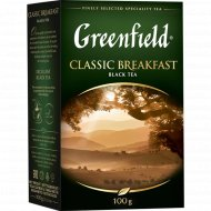 Чай чёрный «Greenfield» Classic Breakfast 100 г.