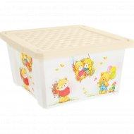 Детский ящик для хранения «Bears» 17 л.