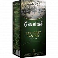 Чай черный «Greenfield» с ароматом бергамота, 25 пакетиков.