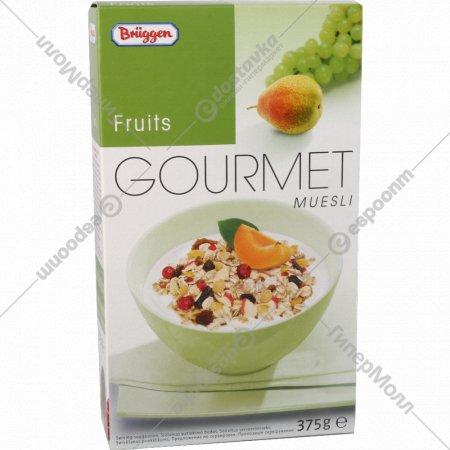 Мюсли «Гурман» с фруктами, 375 г.