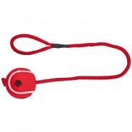 Игрушка для собаки «Trixie» тенисный шар на верёвке, 50 см.