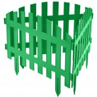 Забор декоративный «Gardenplast» Renesans №2, 3.1х0.35 м, зеленый.