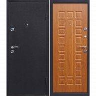 Дверь входная «Йошкар» Черный/Дуб золотистый, R, 205х96 см