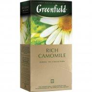Чайный напиток «Greenfield» Rich Camomile, 25х1.5 г.