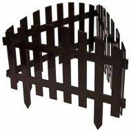 Забор декоративный «Gardenplast» Renesans №2, 3.1х0.35 м, шоколад.