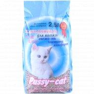 Наполнитель «Pussy-cat» для котят, 2.5 л.