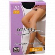 Колготки женские «Dea mia» basic, 20 den, black.