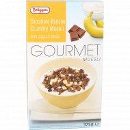 Мюсли хрустящие «Гурман» шоколадно-банановые с йогуртом, 375 г.