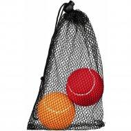 Игрушка для собаки «Теннисные мячики» 6 см, разноцветные.