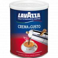 Кофе молотый «Lavazza» сrema e gusto, 250 г.