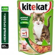 Корм для кошек «Kitekat» кролик в желе, 85 г.