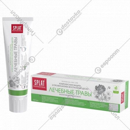 Зубная паста «Splat» лечебные травы 100 мл.