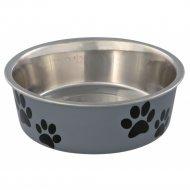 Миска «Trixie» из металла для собак с пластиковым покрытием, 0.3 л.