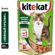 Корм для кошек «Kitekat» кролик в соусе, 85 г.