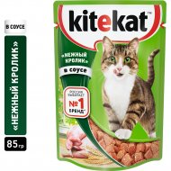 Корм для кошек «Kitekat» кролик в соусе, 85 г