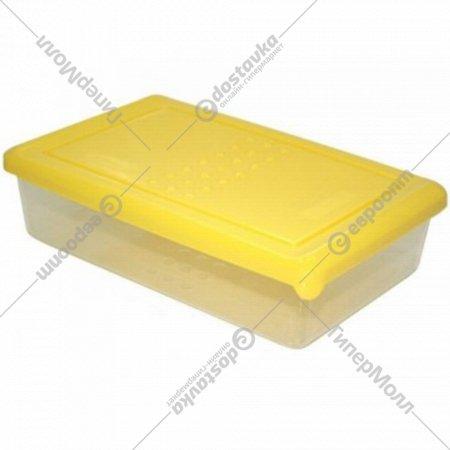 Емкость для продуктов «Pattern» прямоугольная, охровый, 0.75 л.