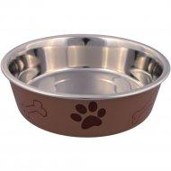 Миска для собак «Trixie» из металла с пластиковым покрытием, 0.4 л.