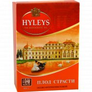 Чай черный «Hyleys» плод страсти, крупнолистовой, 100 г.