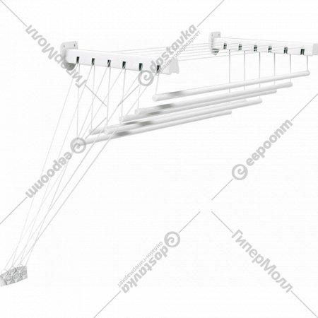 Сушилка для белья потолочная «Gimi» Lift окрашенная, 140 cм.