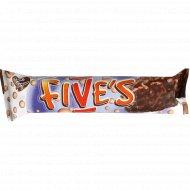 Вафельный батончик «Five's» с воздушным рисом, 33 г.