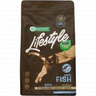 Корм для кошек после стерилизации «Lifest Grain» с рыбой, 1.5 кг.