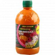 Жидкое удобрение «Для ампельных и роз» 0.5л.
