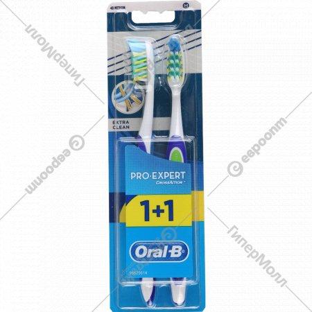 Зубная щетка «Оral-b» 1+1.