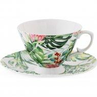 Чашка с блюдцем «Home&You» Manua, 60485-MIX-FIL