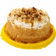 Торт «Медово-ореховый» 1 кг., фасовка 0.9-1 кг