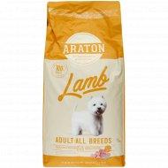 Корм для собак «Araton Lamb» с ягненком, 15 кг.