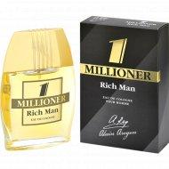 Одеколон «1 millioner rich man» мужcкой, 60мл.
