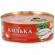 Консервы рыбные «За Родину» килька в томатном соусе, 240 г