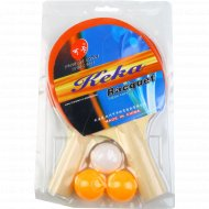 Набор для игры в настольный теннис.