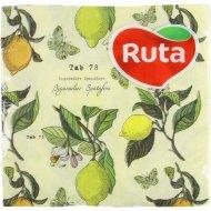 Салфетки сервировочные «Ruta» с принтом ароматизированные, 33х33 см, 20 шт.