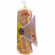Хлеб «Тостовый» нарезанный, 0.5 кг.