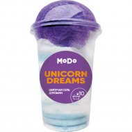 Набор «Unicorn Dreams» шипучая соль для ванн, мочалка.
