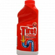Средство чистящее для труб «Tiret» турбо, 500 мл