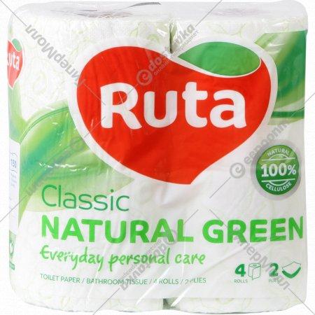 Бумага туалетная «Ruta» classic, 4 шт.
