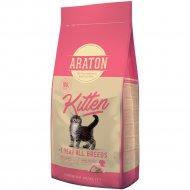Корм для котят до 1 года «Araton» курица, 15 кг