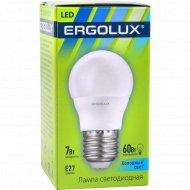 Лампа светодиодная «Ergolux» Е27, 7 Вт.