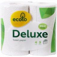 Туалетная бумага «Ecolo» 4 рулона.