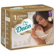 Подгузники «DADA» Extra Care размер 1, newbort, 2-5 кг, 23 шт