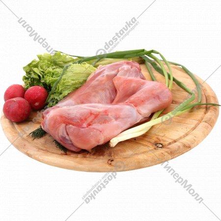 Мясо кролика половинка, замороженная, 1 кг., фасовка 0.4-0.7 кг