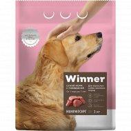 Сухой корм «Winner» для собак крупных пород с говядиной, 10 кг.