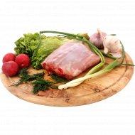 Мясо кролика спинка, замороженная, 1 кг., фасовка 0.42 кг