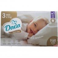 Подгузники «DADA» Extra Care размер 3, midi, 4-9 кг, 40 шт