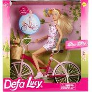 Кукла «Defa» На велосипеде, 8276