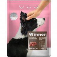 Сухой корм «Winner» для собак средних пород с говядиной, 3 кг.