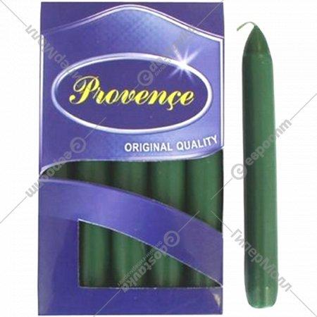 Набор свечей «Provence» 560109/72, зеленый, 17x2 см, 10 штук